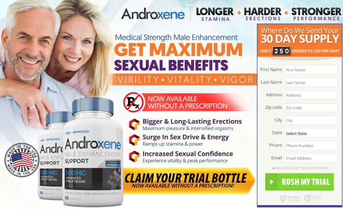 Androxene Male Enhancement